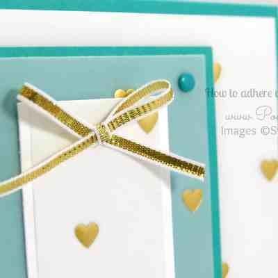 Vellum Card Tutorial with Adhesive Ideas