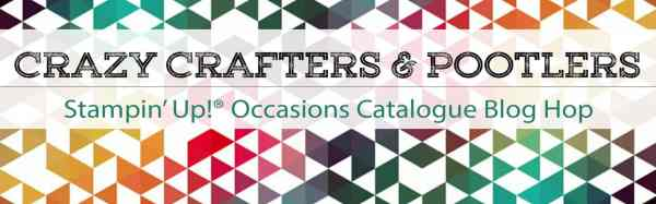 Crazy Crafters and Pootlers Blog Hop