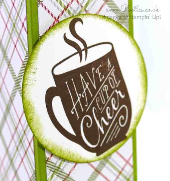 Stampin' Up! Demonstrator Pootles - Tall Slender 2, 4, 6, 8 Box Tutorial Cup of Cheer Close Up