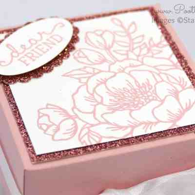 South Hill Designs & Stampin' Up! Sunday Pretty Floral Box