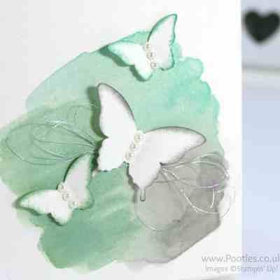 Watercoloured Butterflies. Easy Peasy!!!