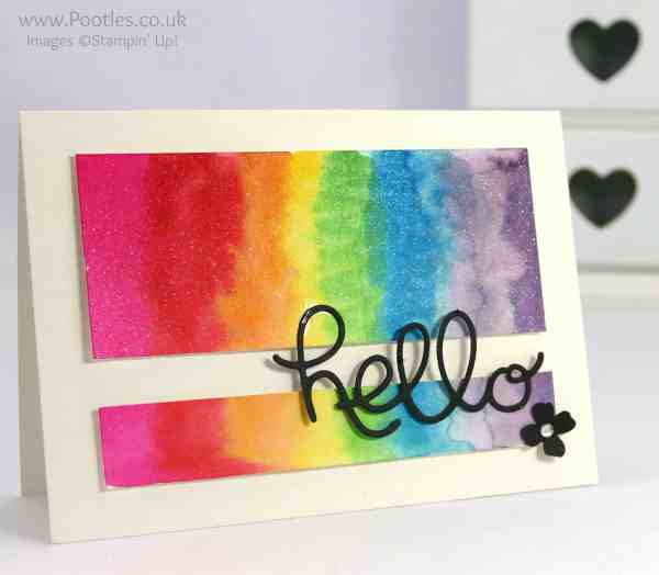 Stampin' Up! Demonstrator Pootles - Watercolouring - a new addiction...!