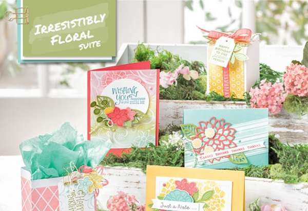 Stampin' Up! IRRESISTIBLY FLORAL
