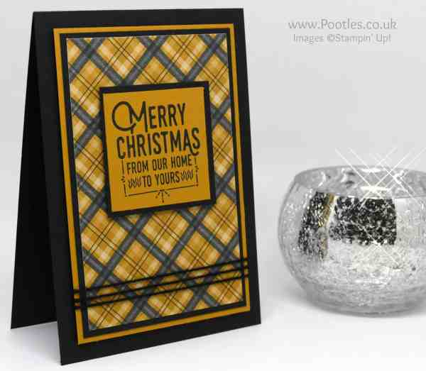 Stampin' Up! Demonstrator Pootles - Wrapped in Stampin' Up's Warmth & Cheer