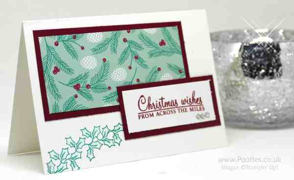 Pootles Advent Countdown 2016 #13 Customer Thank You Christmas Cards close up