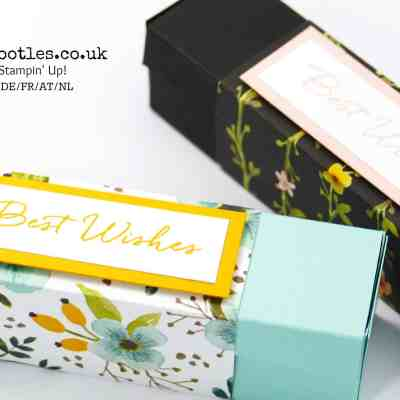 Stunning Box using Stampin' Up! Whole Lot of Lovely