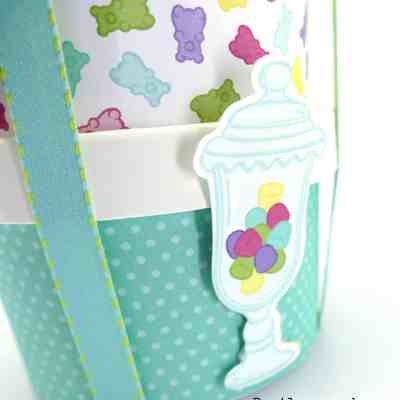Covering the Sweet Cups from Stampin' Up!