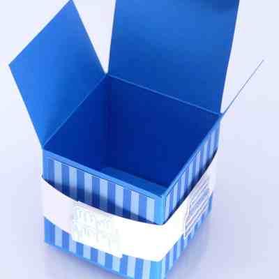 Birthday Cube using Cake Builder Punch
