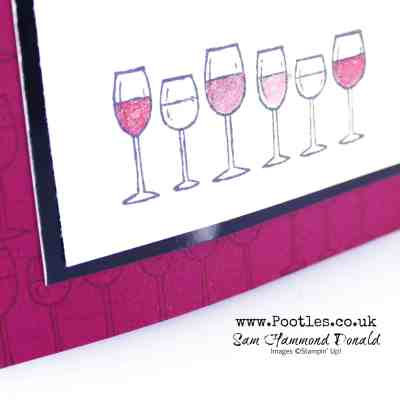 Half Full by Stampin' Up! with Merry Merlot