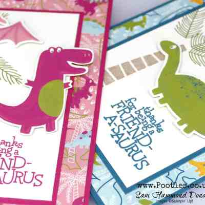 Dinoroar Die Cut Card Tutorial