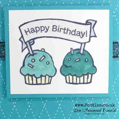 Hoot Hoot Cute Guy Cupcake Card
