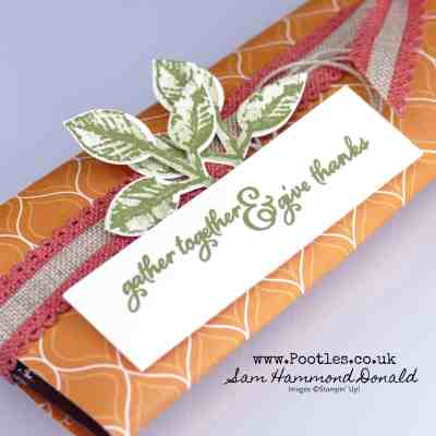 Quick Hot Chocolate Wrappers using Painted Harvest