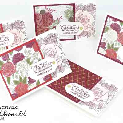 ChristmasTime is Here Customer Thank You Cards