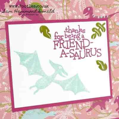 Dino Days and DinoRoar Friendship Card