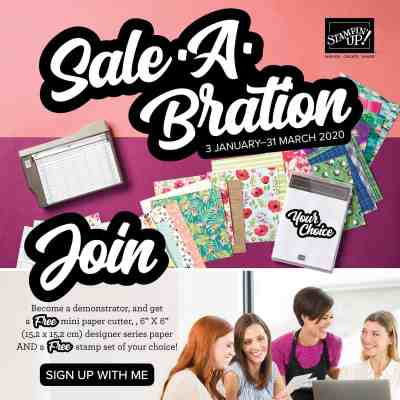 Stampin' Up! 2020 Sale a Bration Joining Offer