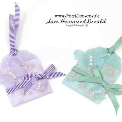 Beautiful So Very Vellum Tags or Lotto Favours