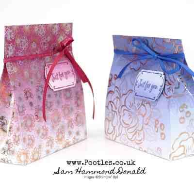 Free Flowering Foils Ombre Bag Tutorial