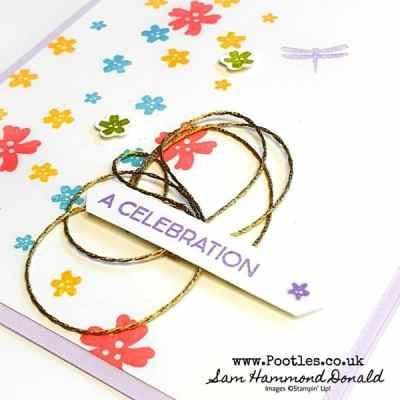 Field of Flowers Scatter Card Idea