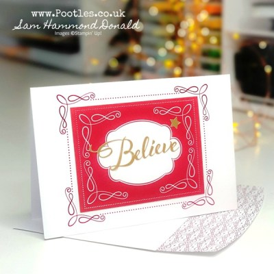 Wonder of the Season Cards made with Memories & More