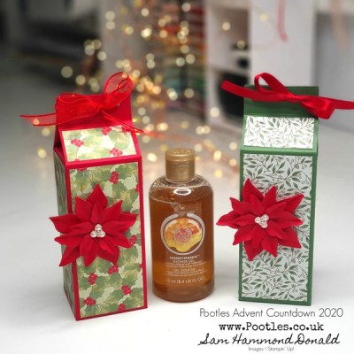 Pootles Advent Countdown 2020 Body Shop Gift Box Tutorial