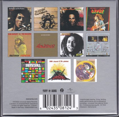 Bob Marley The Wailers – The Complete Island Recordings Box