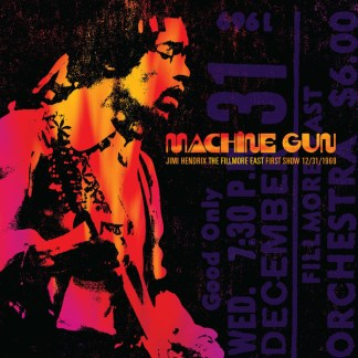 Jimi Hendrix ‎– Machine Gun The Fillmore East First Show LP Cover