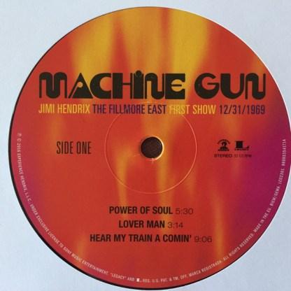 Jimi Hendrix – Machine Gun The Fillmore East First Show Side 1