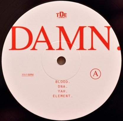 Kendrick Lamar – Damn LP A