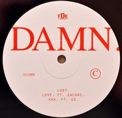 Kendrick Lamar – Damn LP C