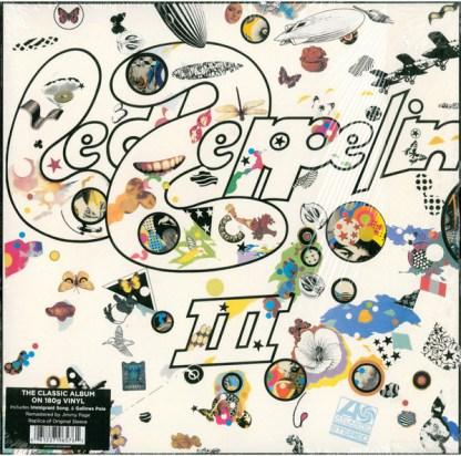 Led Zeppelin Led Zeppelin III LP Cover