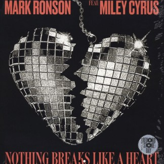 Mark Ronson Feat Miley Cyrus ‎– Nothing Breaks Like A Heart LP