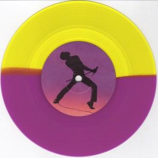 Queen – Bohemian Rhapsody bw Im In Love With My Car LP Single Yellow Purple