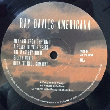 Ray Davies – Americana Side B