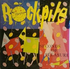 Rockpile – Seconds Of Pleasure LP Cover