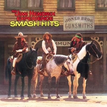The Jimi Hendrix Experience  Smash Hits LP Cover