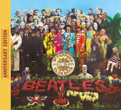 Beatles The Sgt. Peppers Lonely Hearts Club