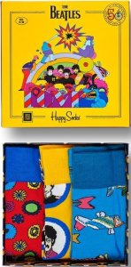Happy Socks The Beatles Collector Giftbox 3 pack Maat 36 40 Box