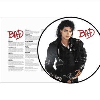 Michael Jackson Bad Picture Disc LP LP