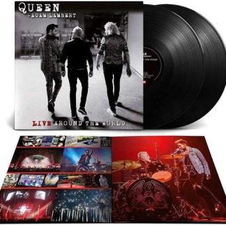 Queen Adam Lambert Live Around the World LP