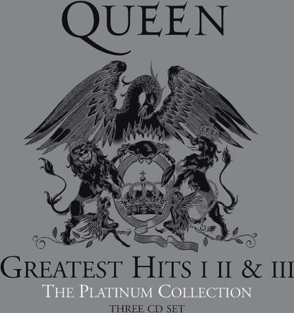 Queen The Platinum Collection 2011 Remastered CD