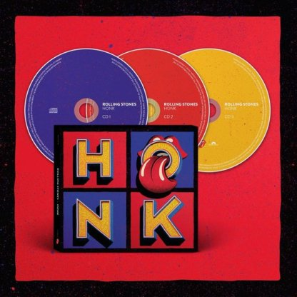 The Rolling Stones Honk 3CD