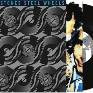 The Rolling Stones Steel Wheels Half Speed New Art LP