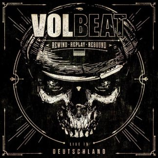 Volbeat Rewind Replay Rebound LP