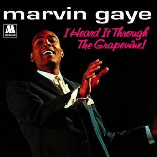 Marvin Gaye I Heard It Through the GrapevineI Want You LP