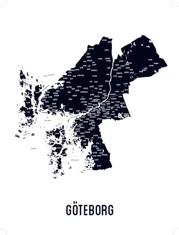 Göteborg svartvit