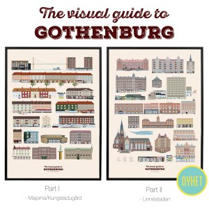 The visual guide to Gothenburg