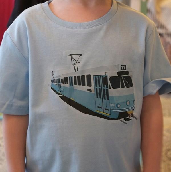 Tram kids organic T-shirt