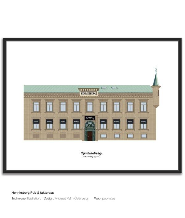 Henriksberg Pub & takterass