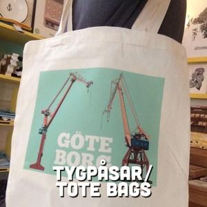 Tygpåsar / Totebags