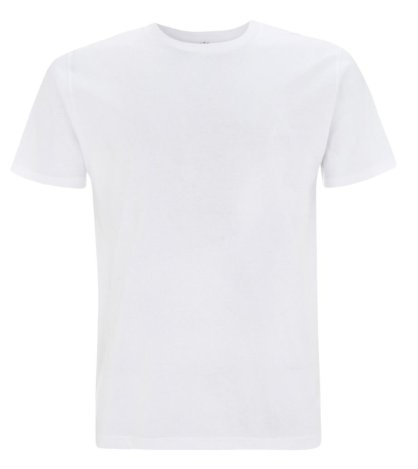 Earth positive organic T-shirt -white